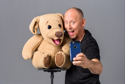 Publicity: Ted & Dave Selfie - Adam Shane Photography